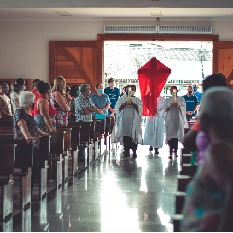 Semana Santa nas paróquias