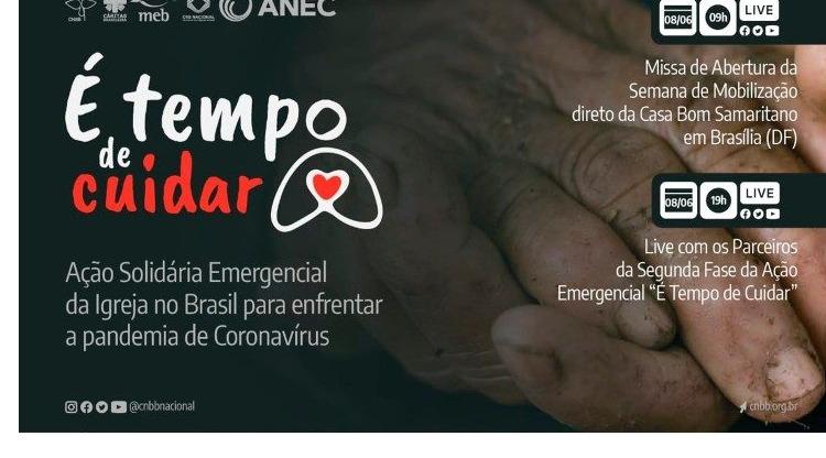 """Tem início a Semana Nacional de Mobilização, 2ª etapa """"É Tempo de Cuidar"""""""