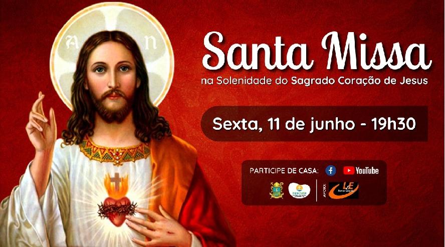 Missa do Sagrado Coração de Jesus em Barra Mansa