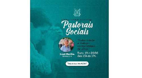 Retiro espiritual-virtual das Pastorais Sociais