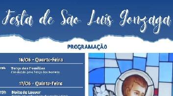 Paróquia São Luiz Gonzaga se prepara para festa do padroeiro