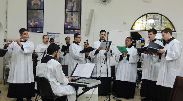 Dia dos Seminaristas é celebrado com missa na paróquia São Luís Gonzaga