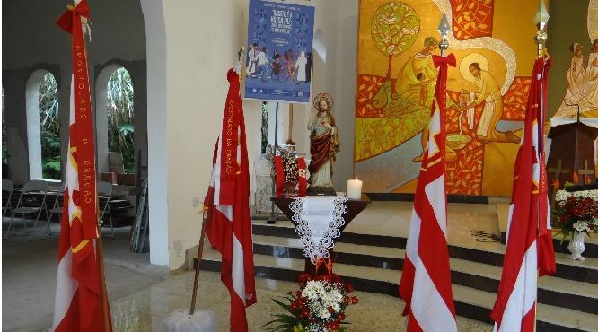 Paróquia Santa Cruz realiza Encontro do Apostolado da Oração