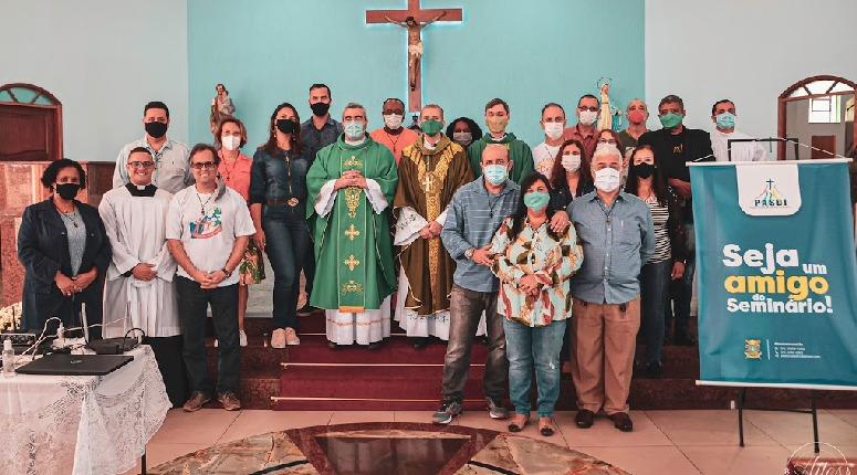 Promotores do PASDI são apresentados na missa