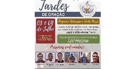 Tardes de Oração acontecem em Rio Claro