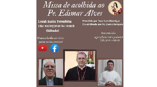 Setor Santa Terezinha acolhe padre Edimar Alves