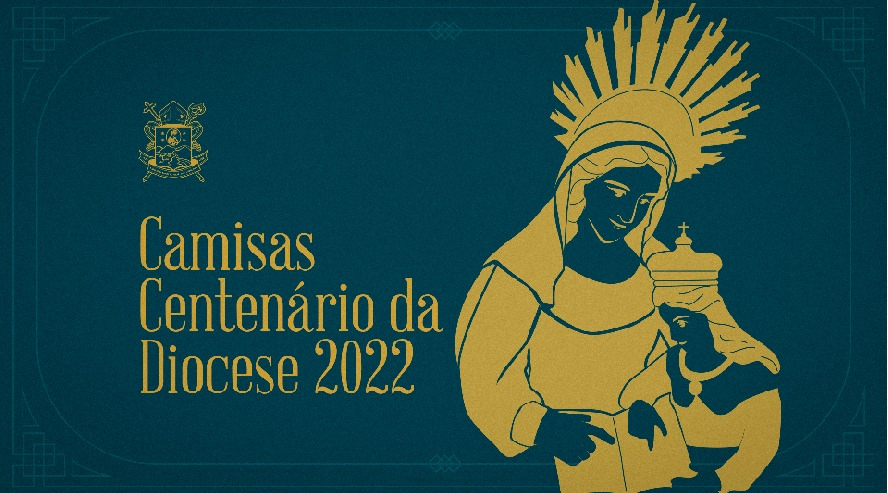 Diocese lança camisas para o Centenário em 2022