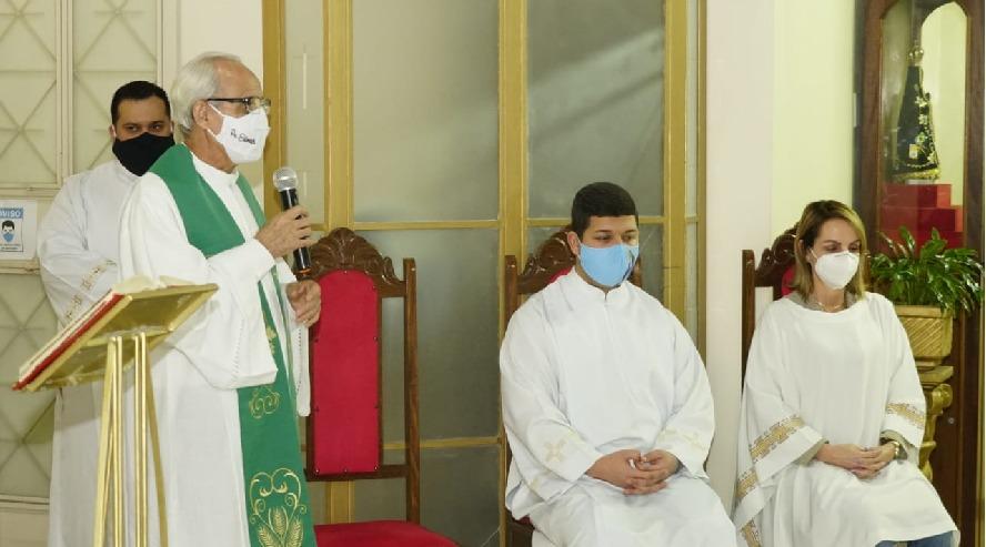 Dom Luiz Henrique celebra missa de acolhida do padre Edimar Alves