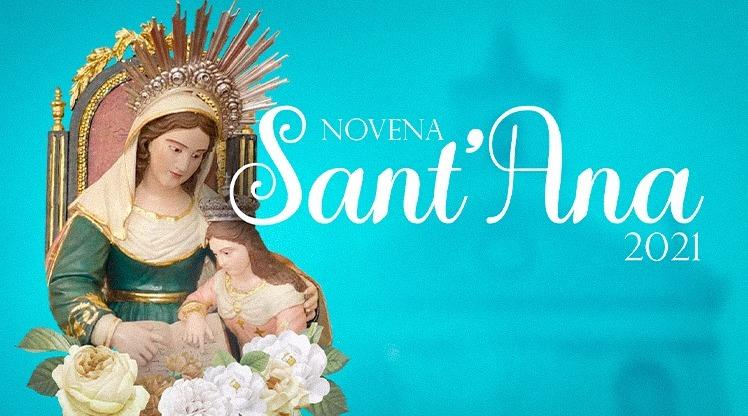 Novena de Sant'Ana acontece virtualmente