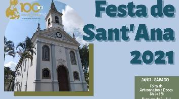 Programação para festa de Sant'Ana é divulgada