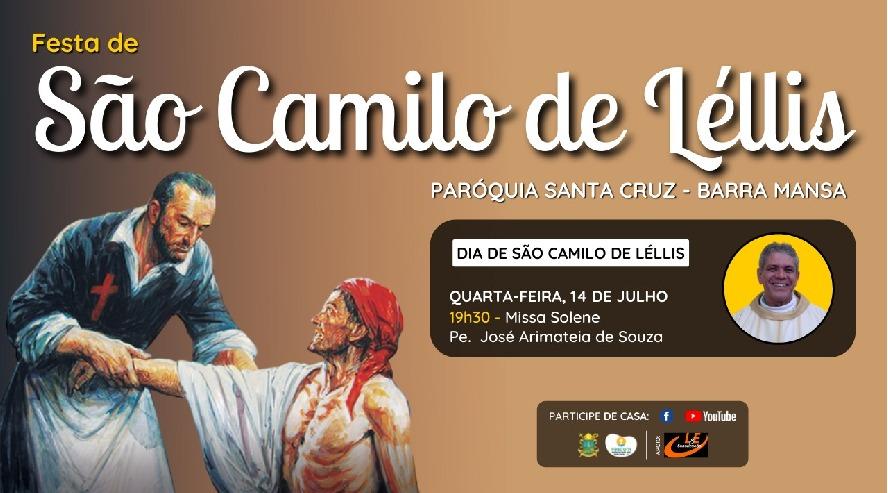 Comunidade São Camilo de Lélis celebra padroeiro