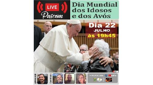 Paróquia Santa Cruz realiza live para o Dia Mundial dos Avós