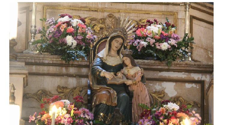 Diocese celebra padroeira Sant'Ana
