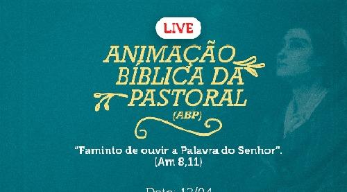 Live da Animação Bíblica de Pastoral acontece na Diocese