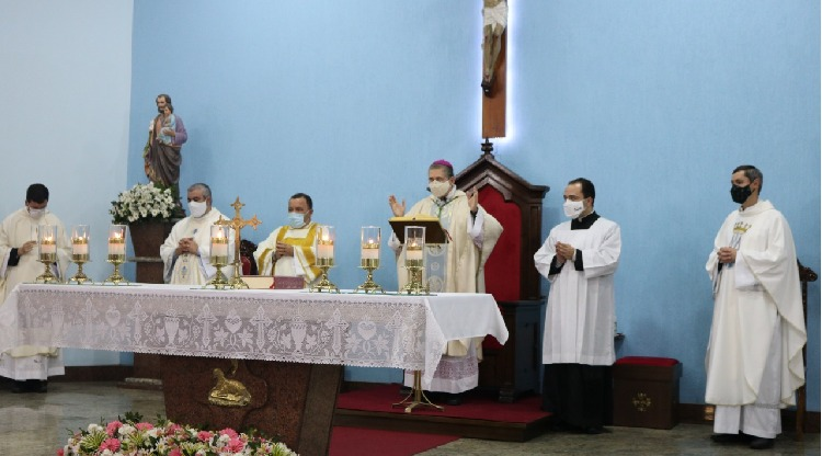 Live da V Festa do Seminário animou os fiéis em casa