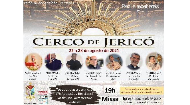 Cerco de Jericó acontece na paróquia São Sebastião