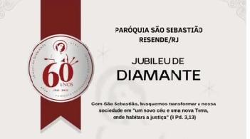 Paróquia São Sebastião completa Jubileu de Diamante