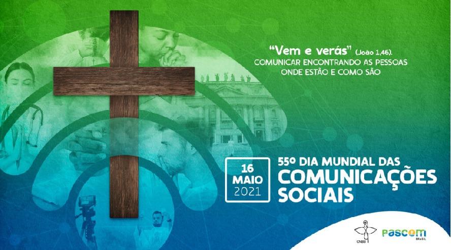 Pascom Brasil divulga identidade visual para 55º Dia Mundial das Comunicações