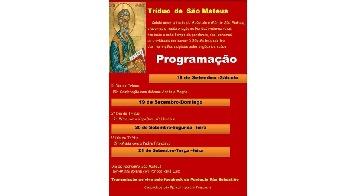 Comunidades São Mateus celebram padroeiro