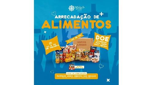Paróquia Nossa Senhora das Graças promove campanha de alimentos