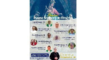 Paróquia Nossa Senhora do Rosário anuncia festa da padroeira