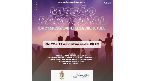 Paróquia São Sebastião promove missão paroquial