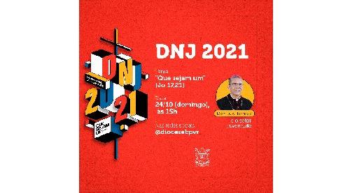 DNJ 2021 será com live da juventude