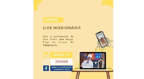 IAM promove live de encerramento do Mês Missionário
