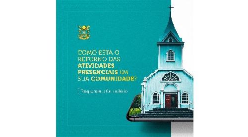 Diocese anuncia pesquisa sobre reabertura das comunidades