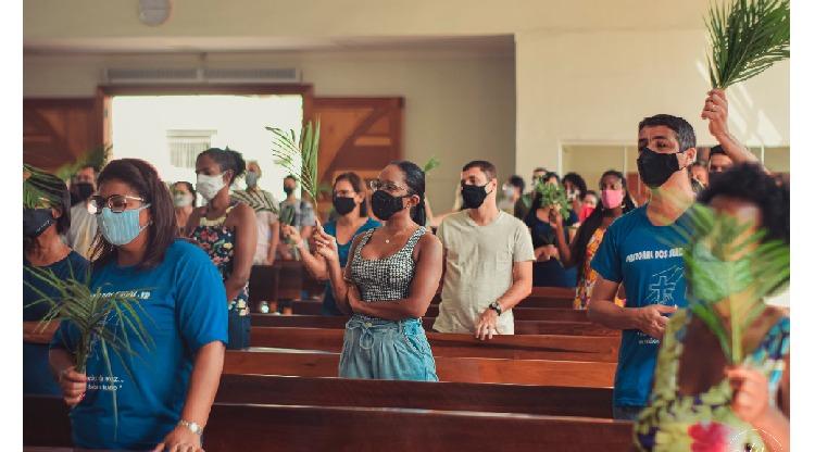 DOMINGO DE RAMOS TEM PROGRAMAÇÃO ESPECIAL NA DIOCESE