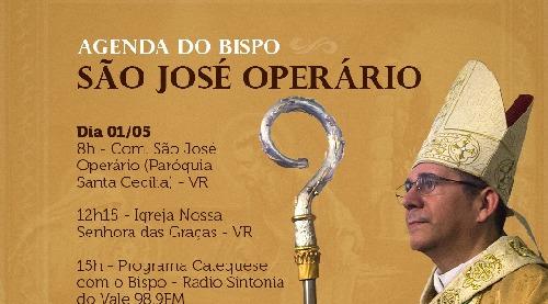 Programação de São José Operário nas paróquias