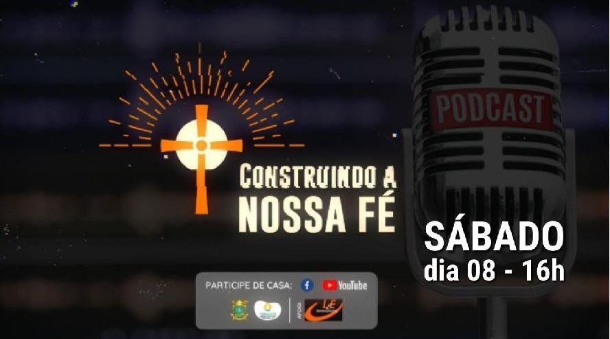 """Paróquia Santa Cruz- BM lança podcast """"Construindo a nossa fé"""""""