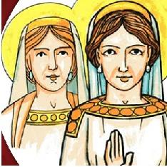Santa Aurélia e Santa Neomísia